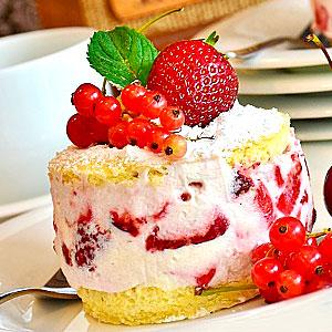 Клубничный крем для торта
