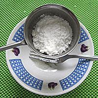 Соединим белок и пудру - фото