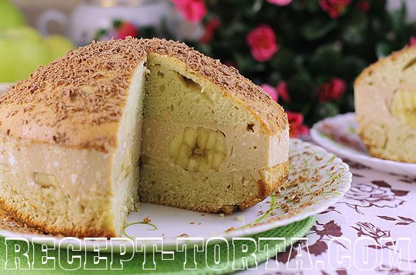 Бисквитный торт с творожным кремом – фото рецепт
