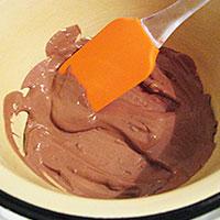 Топлю шоколад для крема Добош - фото