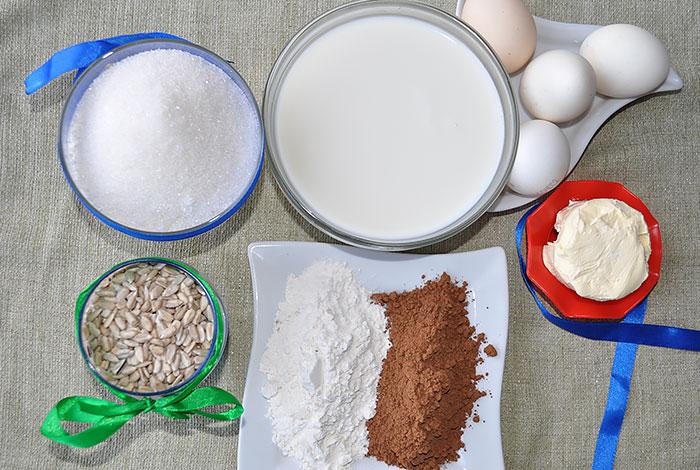 Ингредиенты для Шоколадной пасты Нутелла в домашних условиях