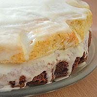 Охлаждаем готовый нежный торт