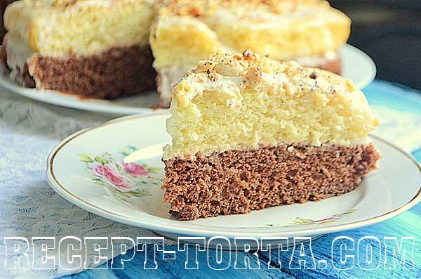 Рецепт торта нежный в пошаговых фото