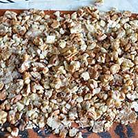 Подготовим орехи