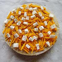 Украсим закусочный торт