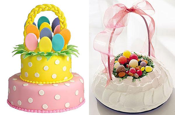 Торт-корзинка с декором из мастики/ с мармеладом и белковым кремом