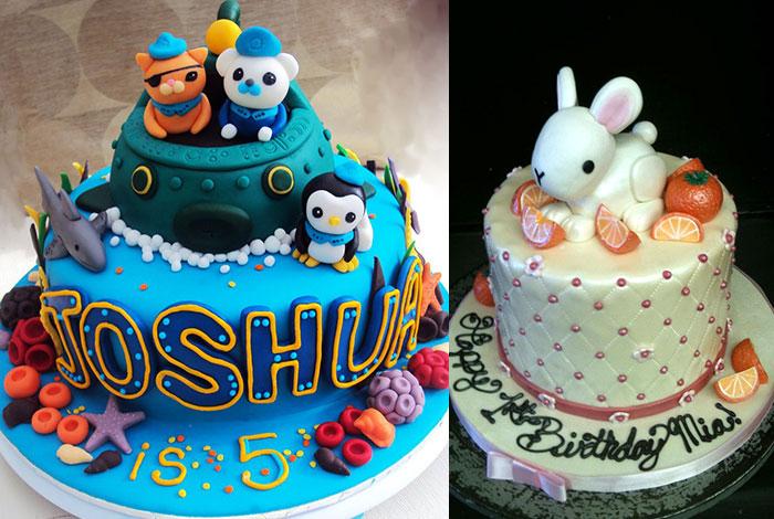 Фото детского торта с милыми зверюшками