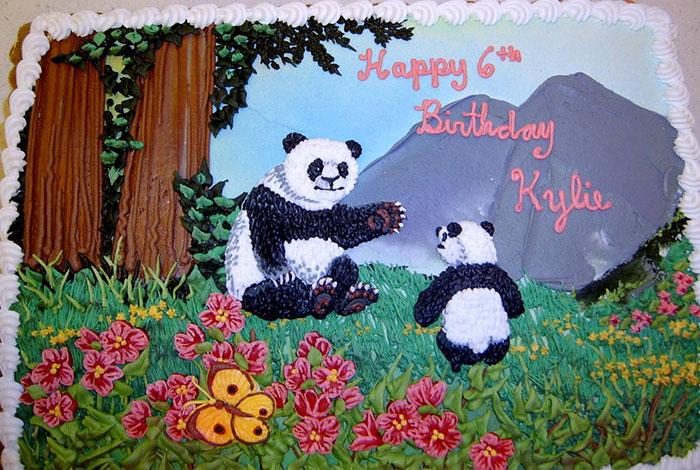 Фото детского торта - идея украшения рисунком