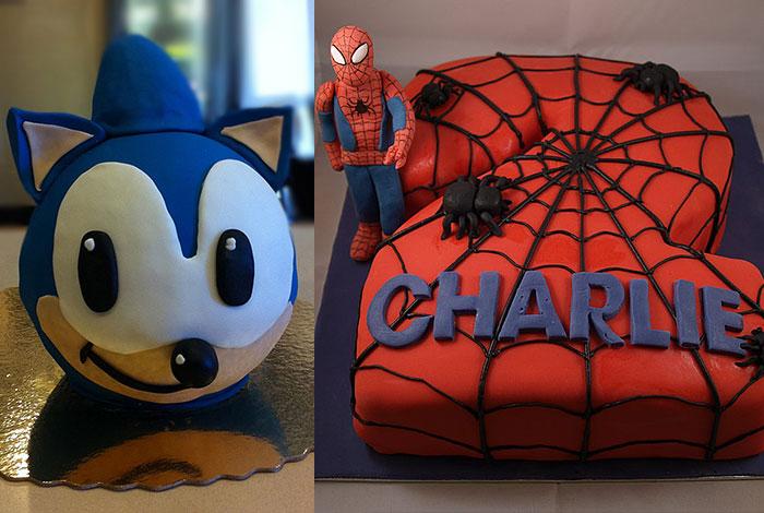 Фото детского торта с персонажами мультов