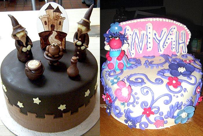 Фото детского торта со сказочными персонажами