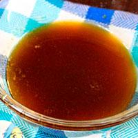 готовый апельсиновый сироп для пропитки бисквитов - фото