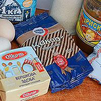 Ингредиенты для торта Карамельный медовик