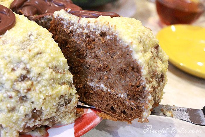 Итоговое фото торта Медовик