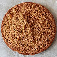 Разделить бисквит на коржи - фото