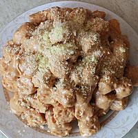 Торт из кукурузных палочек со сгущенкой рецепт