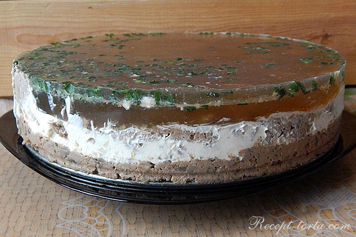 Мясной торт - итоговое фото