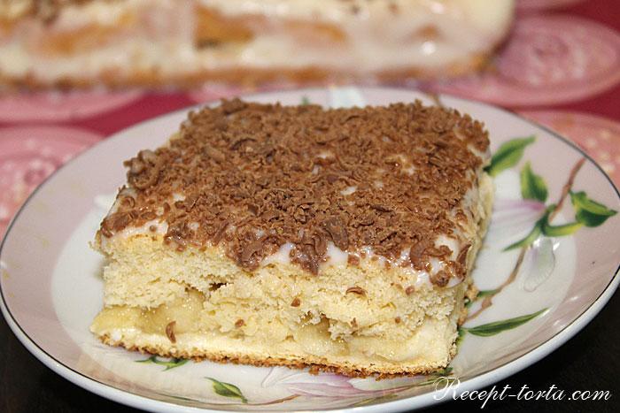 Итоговое фото торта на рисовой муке