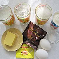Приготовим продукты для шоколадного торта - фото