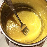 Соединим все ингредиенты для заварного крема - фото