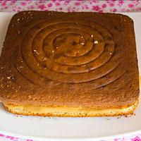 Собираем бисквитный торт - фото