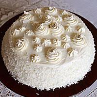 Готовый торт Пломбир - фото