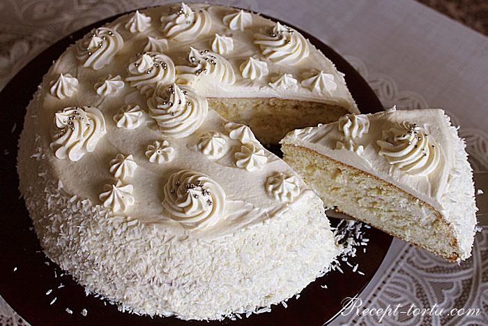 Итоговое фото торта Пломбир