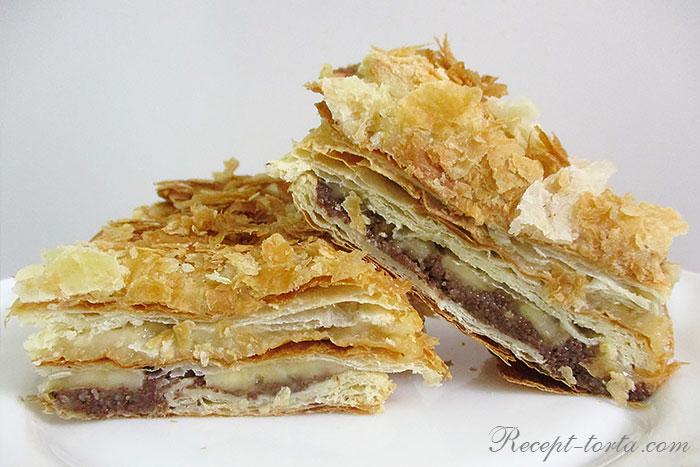 Торт Наполеон постный рецепт в домашних условиях
