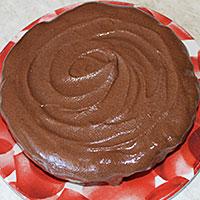 Покроем абрикосовый торт глазурью - фото