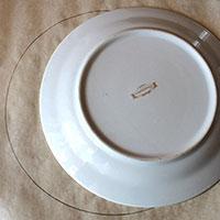 Нарисуем круг для безе-коржа - фото