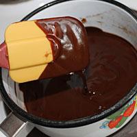 Готовим шоколад для покрытия Птичьего молока - фото