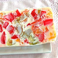 Вынимаем застывший торт Битое стекло из формы - фото