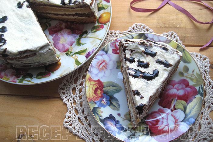 Торт Дамский каприз по рецепту с фото