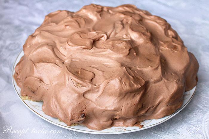 Торт Горка из творожного печенья по рецепту с фото