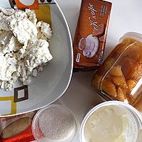 Приготовим продукты для торта без выпечки - фото