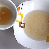 Приготовим сироп с желатином для желейного слоя - фото