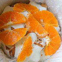 Слой мандаринов - фото