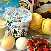 Ингредиенты для торта Кучерявый пинчер