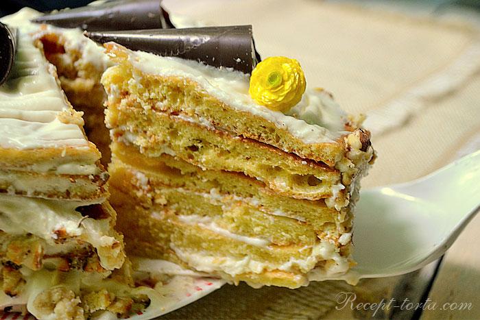 Готовый торт Молочная девочка рецепт с фото пошагово
