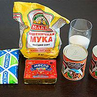 Ингредиенты для домашнего Муравейника