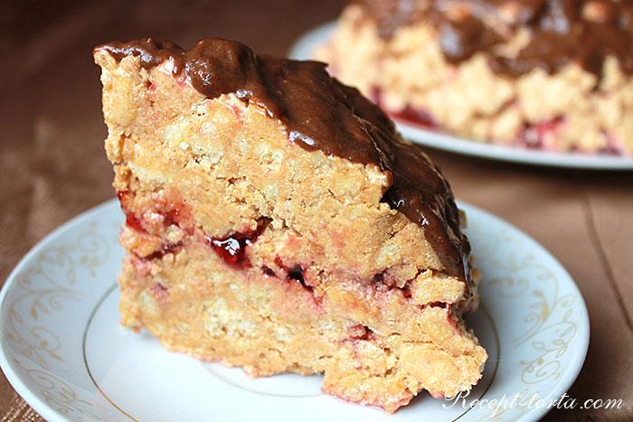 Фото классического торта Муравейник в разрезе