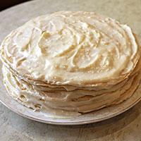Собираем наполеоновский торт - фото