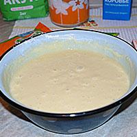Вымесим тесто для торта Птичье молоко - фото