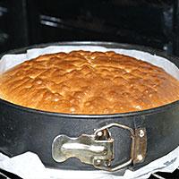 Готовый бисквит для Сметаника - фото