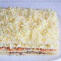 Заключительный слой сырный - фото