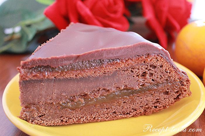 Торт Захер по классическому рецепту - фото
